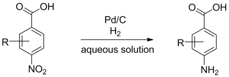FAST hydrogenation for aromatic nitro reduction