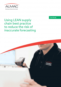 Using LEAN supply chain best practice to reduce the risk of inaccurate forecasting