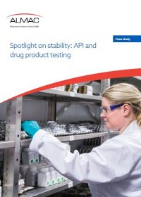 Spotlight on stability: API and drug product testing