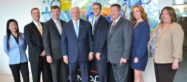 PA Governor Tom Corbett Praises Almac during Visit