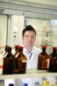 Professor Tom Moody, Head of Biocatalysis at Almac Group following the announcement of a $7million investment in a collaborative R&D expansion with Queens University Belfast in Biocatalysis supported by Invest NI
