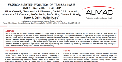 In Silico-Assisted Evolution of Transaminases and Chiral Amine Scale-Up