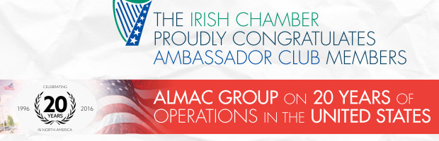 Irish Ambassador to US will present distinguished awards to Beneficial Bank, Eileen McDonnell, and Sean Rooney