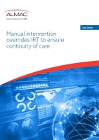 Manual intervention overrides IRT to ensure continuity of care