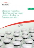 Statistical modelling identifies optimal supply strategy- Almac