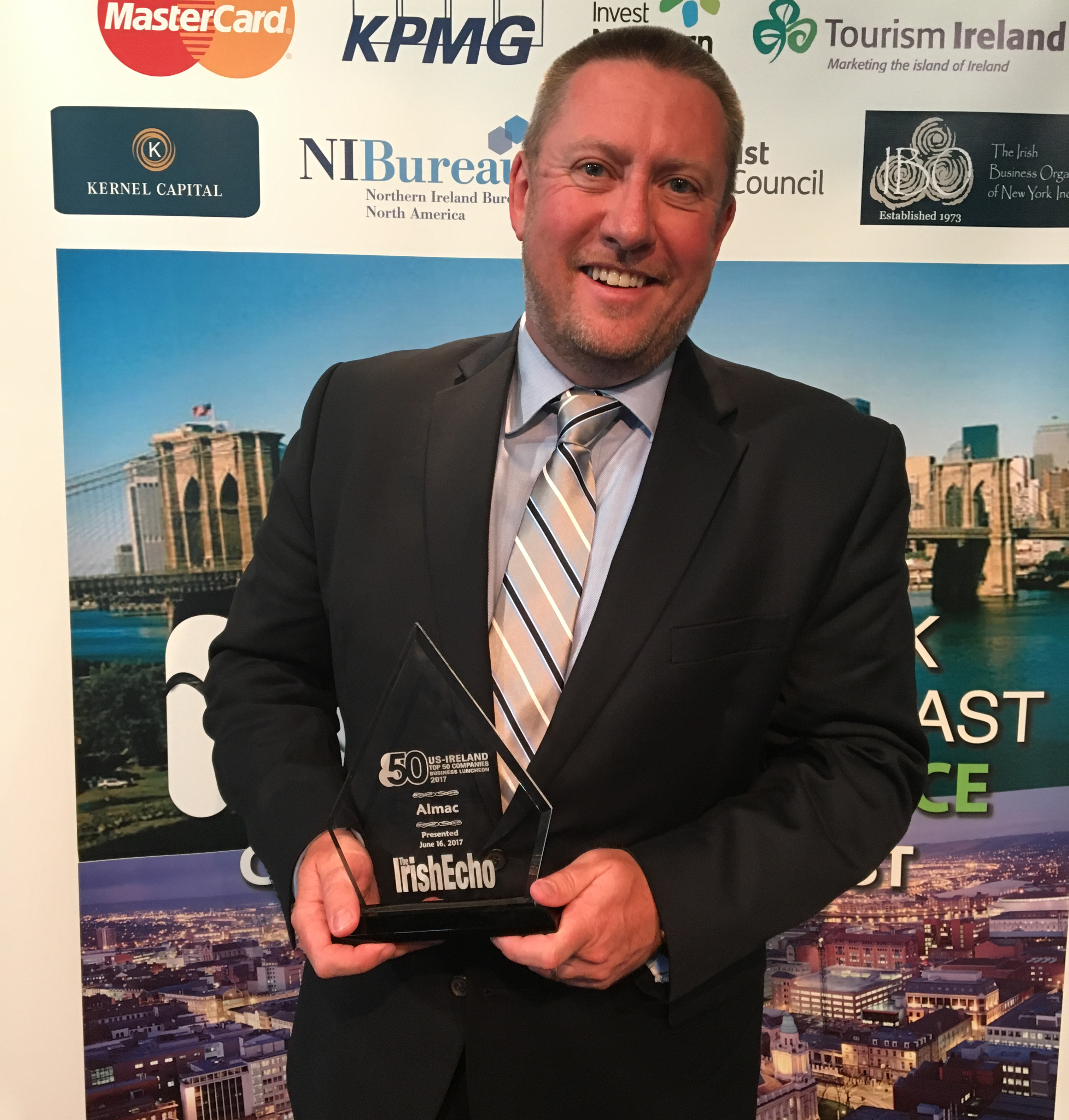 Almac Group Recognized as a Top 50 Company for Transatlantic Operations