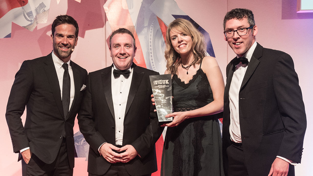 Almac Group scoops top prize at Made in the UK Awards