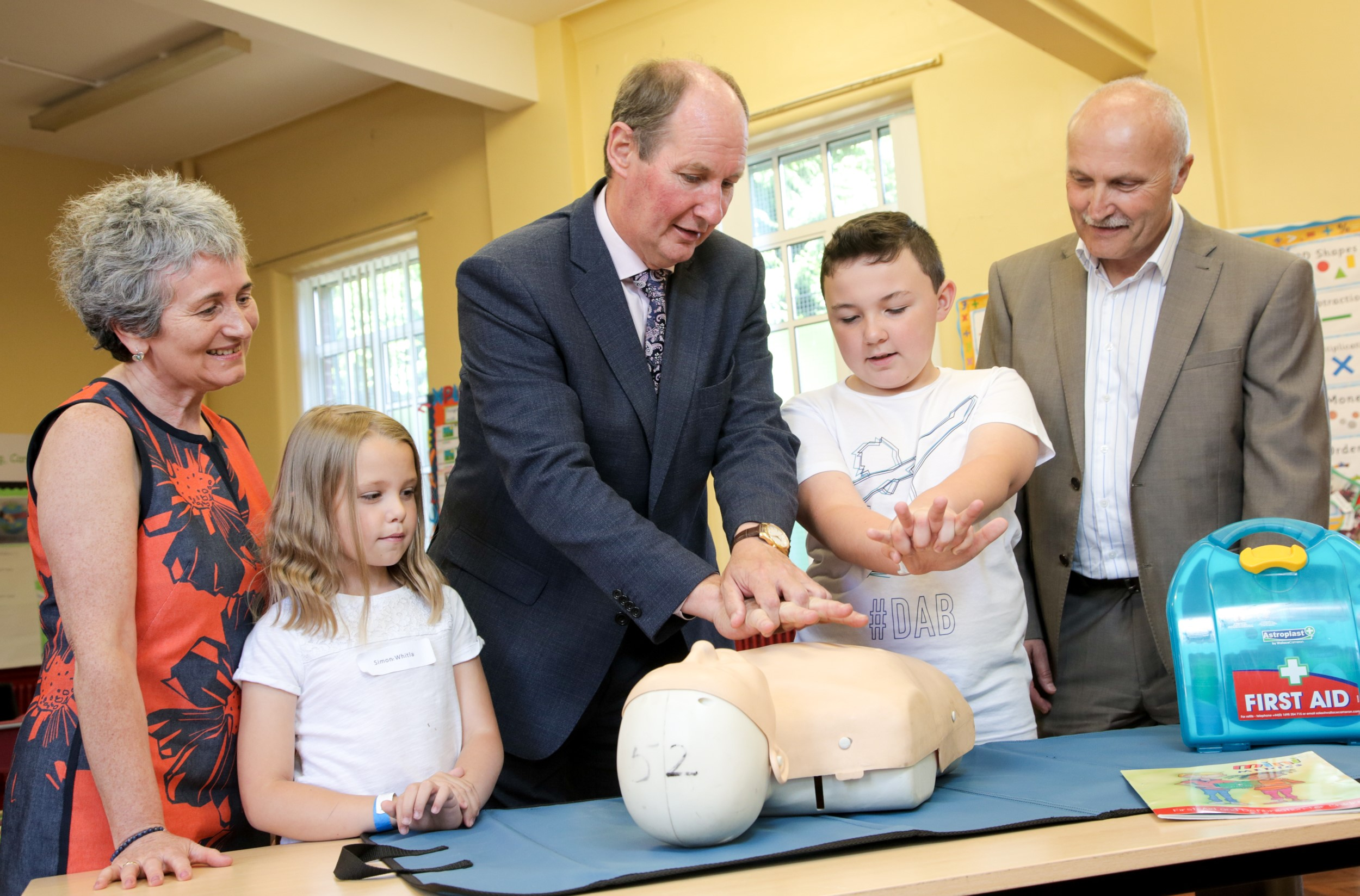 """""""Portadown Gets Active"""" A scheme to support local children and end holiday hunger"""