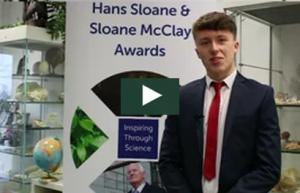 Jamie Brannigan at Sloane McClay Awards Jan 2018