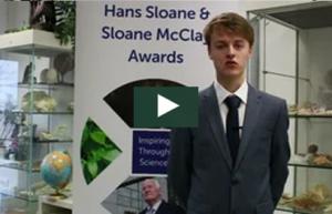 Matthew Vennard at Sloane McClay Awards Jan 2018