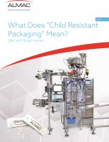 "Q&A: What Does ""Child Resistant Packaging"" Mean?"