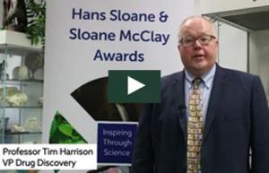 Tim Harrison at Sloane McClay Awards Jan 2018