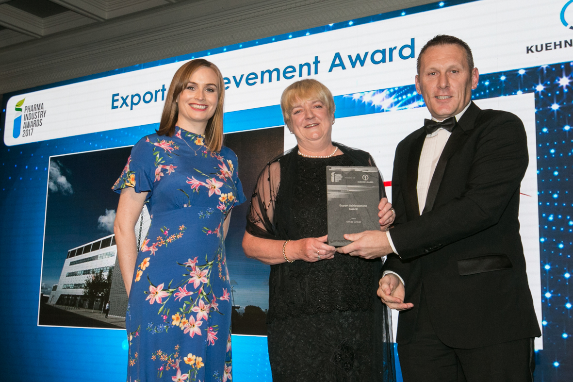 Almac Group Wins Export Achievement Award at the Pharma Industry Awards