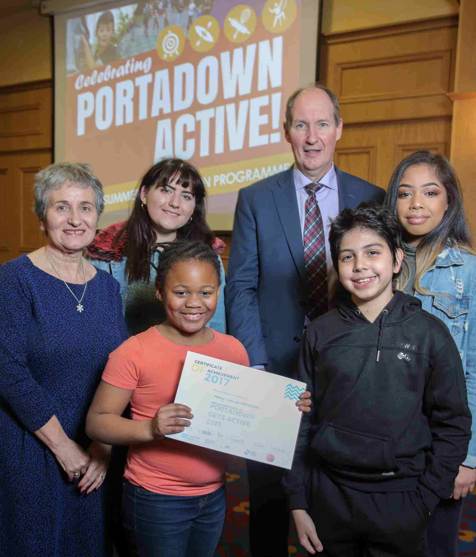Young people presented with accredited awards at celebration event