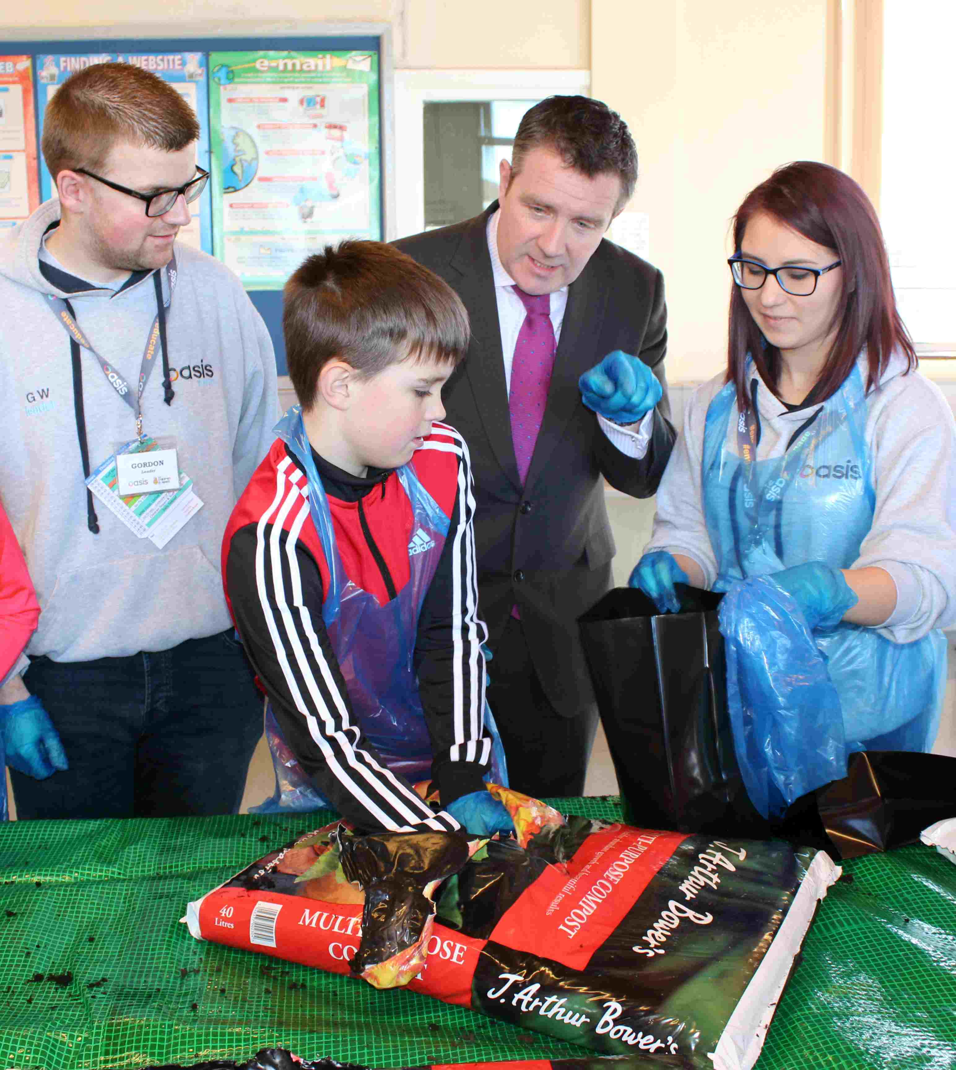 """Portadown Gets Active"" — A scheme to support local children and end holiday hunger"