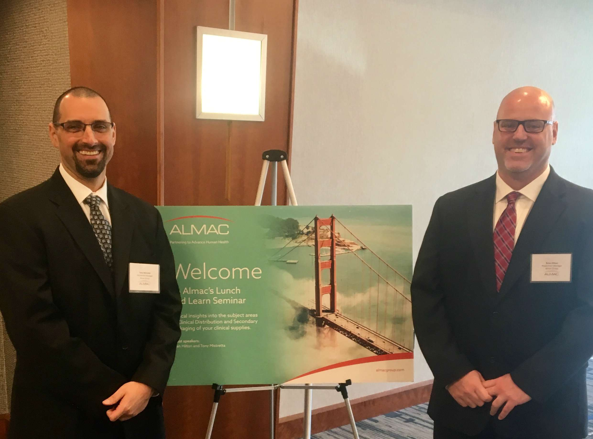 """Almac Group Continues to Share Expertise as part of North America """"Lunch & Learn"""" Seminar Series"""