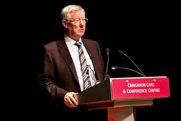 Sir Alex Ferguson at Craigavon Civic Centre