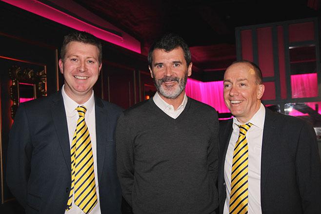 Roy Keane visits TTBS