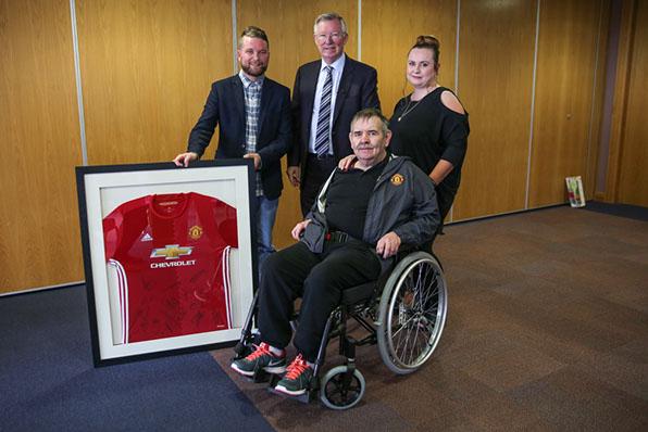 TTBS welcome Sir Alex Ferguson