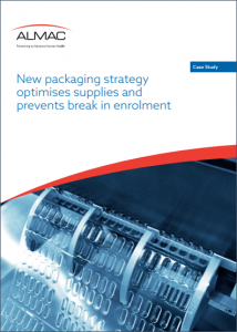 New Packaging Strategy Optimizes Supplies and Prevents Break in EnrollmenT Case Study