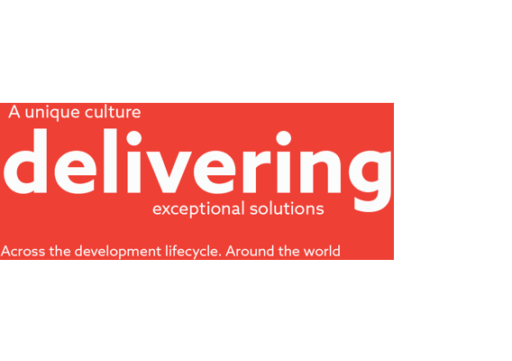 A unique culture <strong>delivering</strong> exceptional solutions. Across the development lifecycle. Around the world.