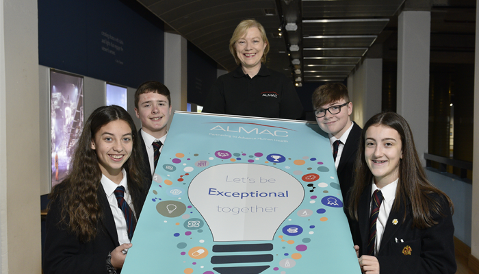 Inspiring the Next Generation Almac Group Promotes STEM Careers at W5