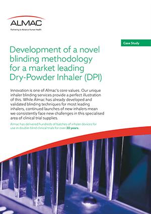 Development of a novel blinding methodology for a Dry-Powder Inhaler (DPI)