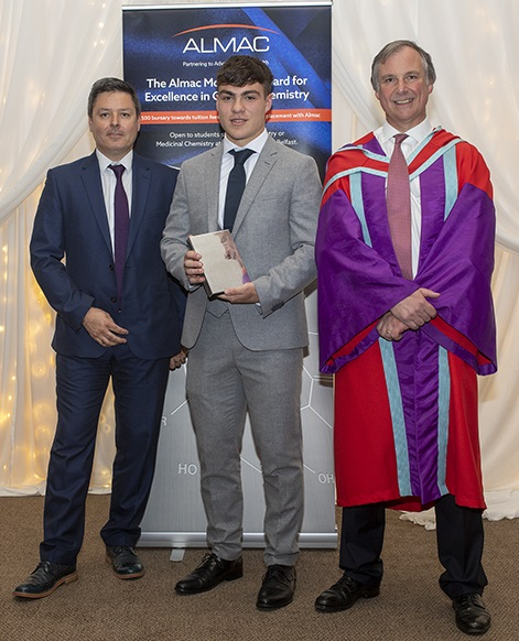 Almac McKervey Award Presented for Excellence in Chemistry