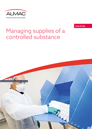 Managing supplies of a controlled substance