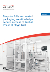 Bespoke fully automated packaging solution helps secure success of Global Phase III Mega Trial
