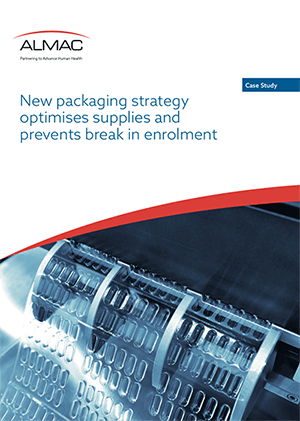 New packaging strategy optimises supplies and prevents break in enrolment