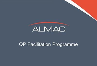 View Almac's webinar on our'QP Facilitation Programme'