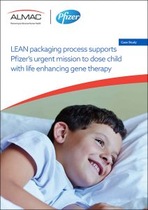 LEAN packaging process supports Pfizer's urgent mission to dose child with life enhancing gene therapy